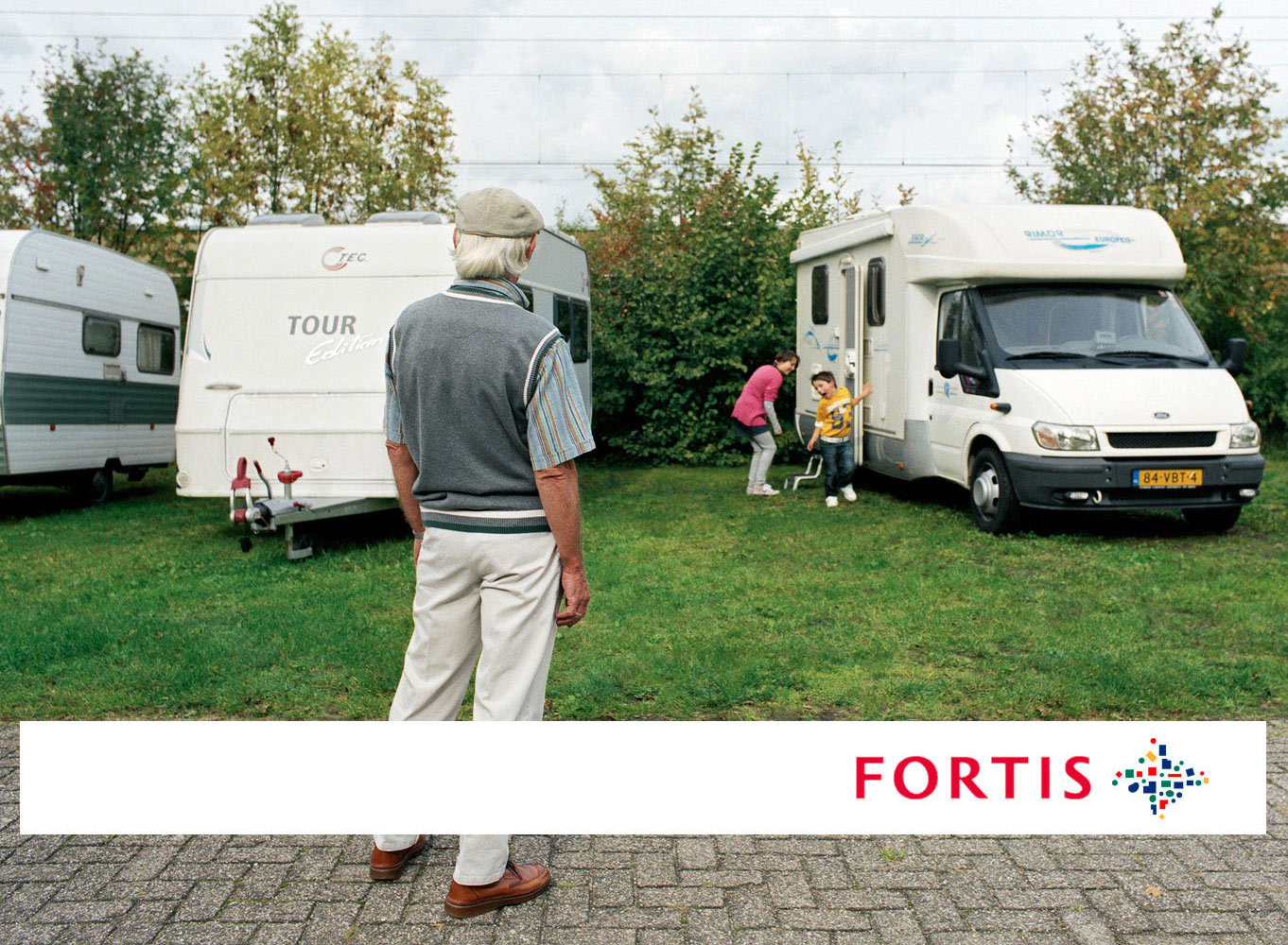 "Fortis bank - campaign 2009 - ""Campers"""