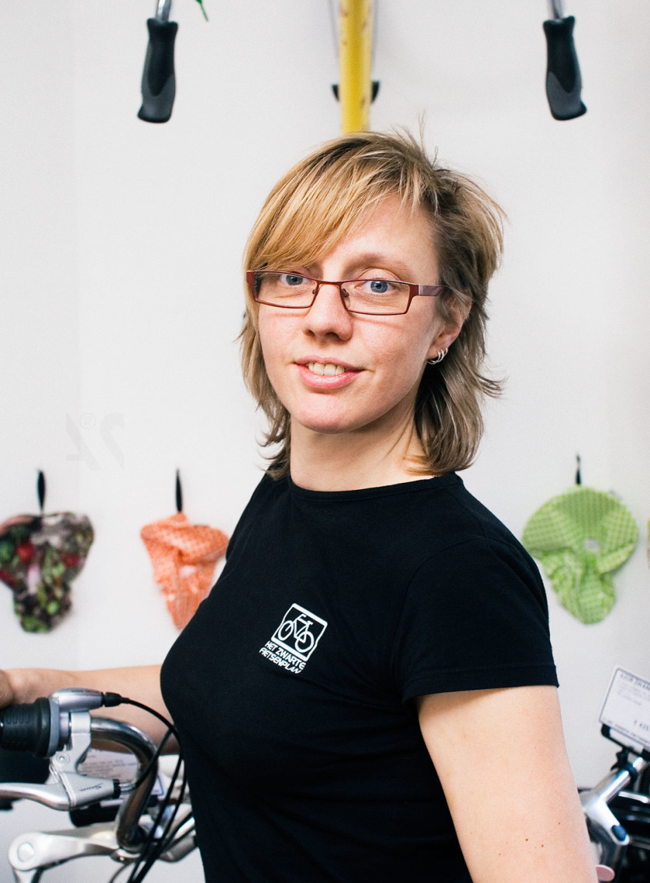"""Ling #19. Job - """"Amsterdam Bike Menders"""""""