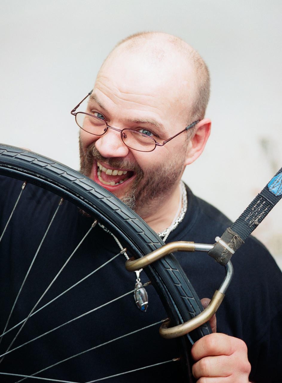 "Ling #19. Michel - ""Amsterdam Bike Menders"""