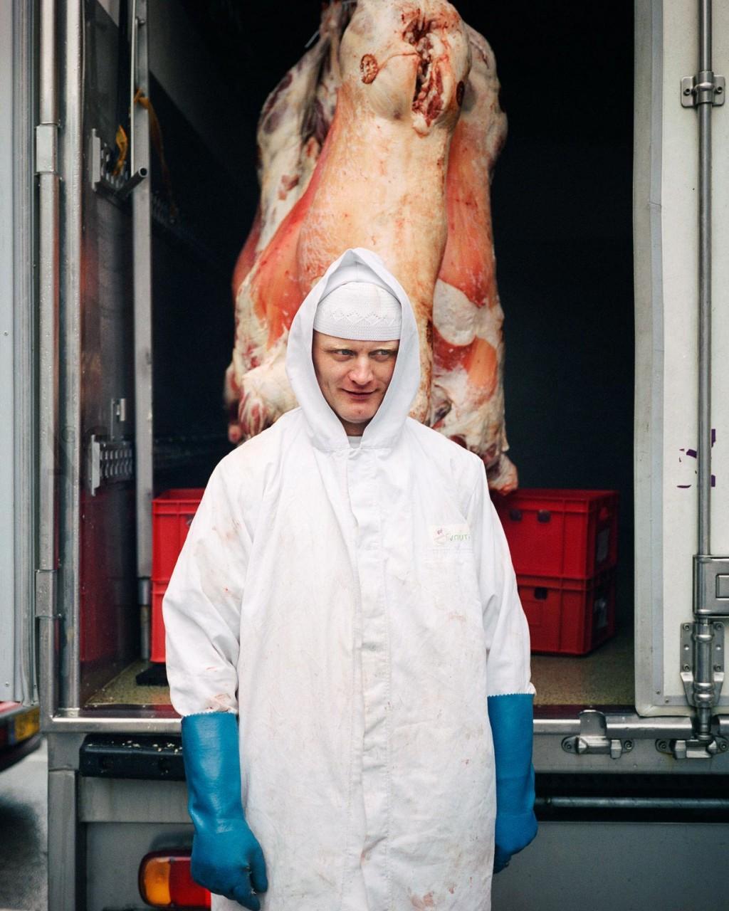 Halal butcher, 2008