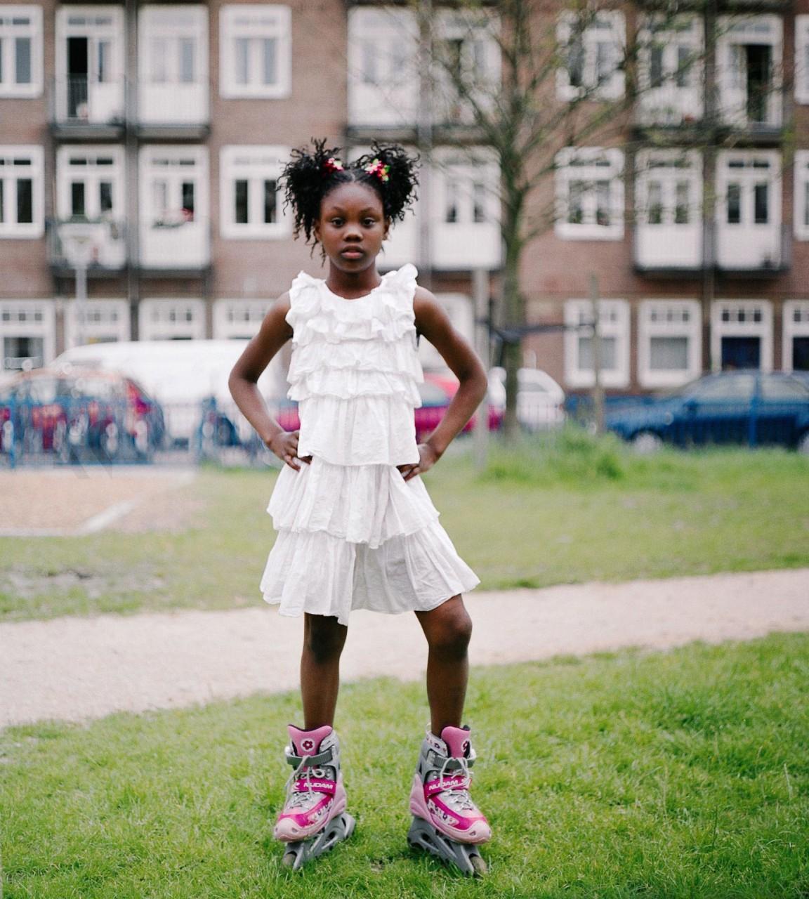 Rollerskate girl, 2007