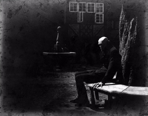 "Nosferatu (1922) — only Max Schreck ""lounged"" like that."