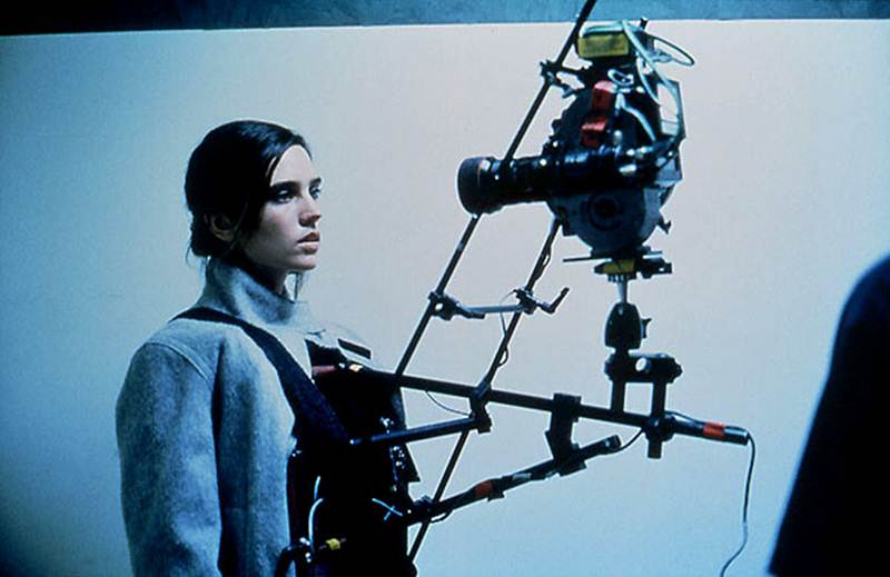 Requiem for a Dream — Jennifer Connelly strapped into a SnorriCam.